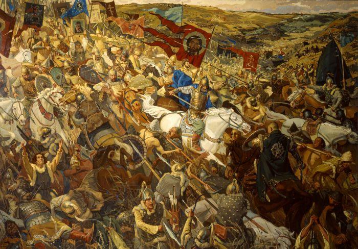 Куликовская битва (совместно с П. Поповым)