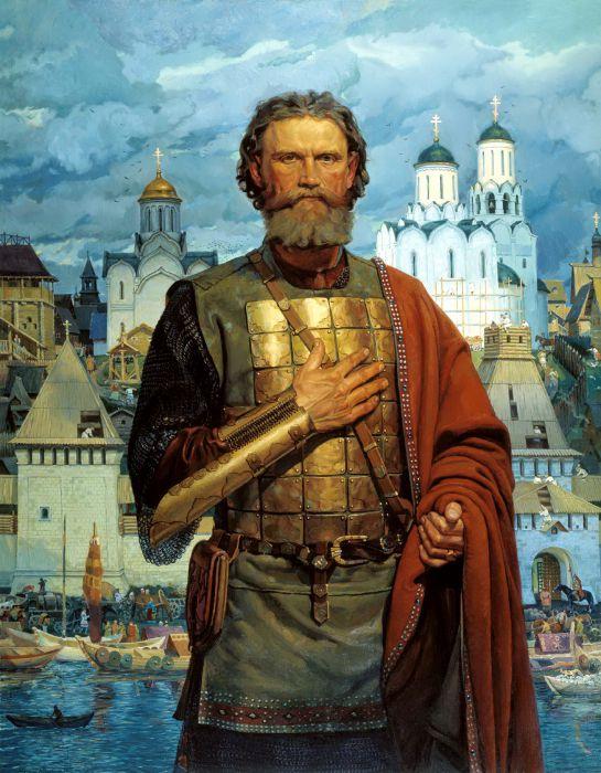 Святой благоверный великий московский князь Дмитрий Донской